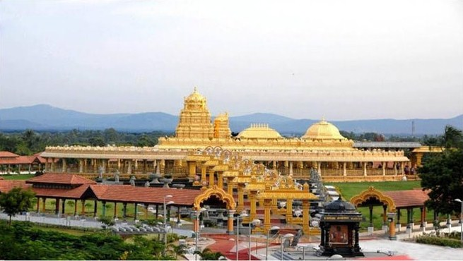 Golden Temple In Vellore