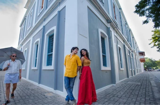 Best romantic honeymoon place in India: The French Love-Pondicherry: