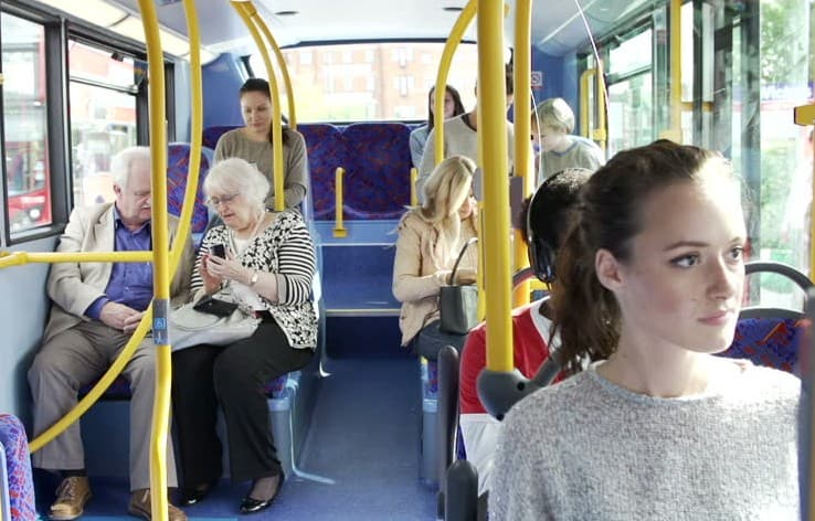 Say No To Smoking While You Are On The Public Transport