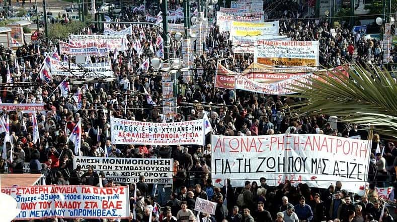 Do Not Freak About The Strikes In Greece