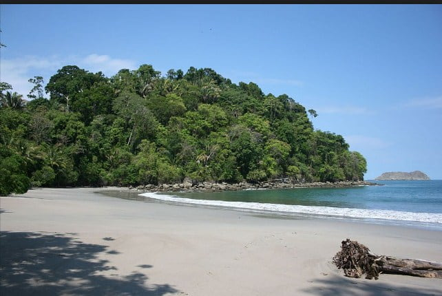 Costa Rica Point Of Interest Playa Manuel Antonio