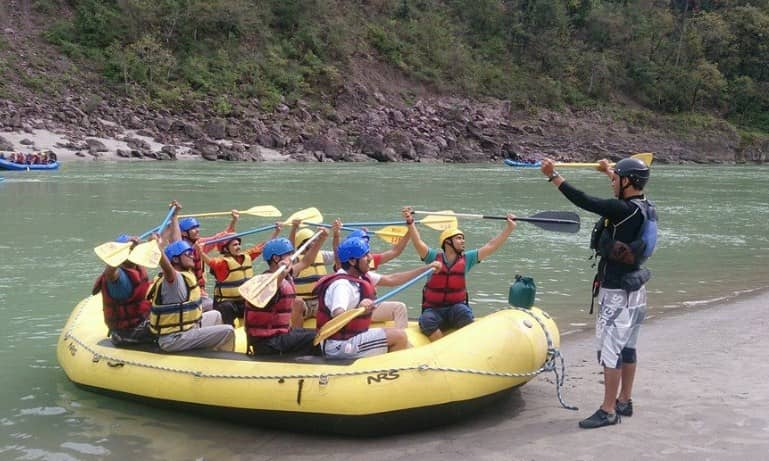 River Rafting Packages In India