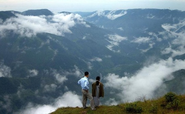 Cherrapunji is one of the best Romantic honeymoon places in India