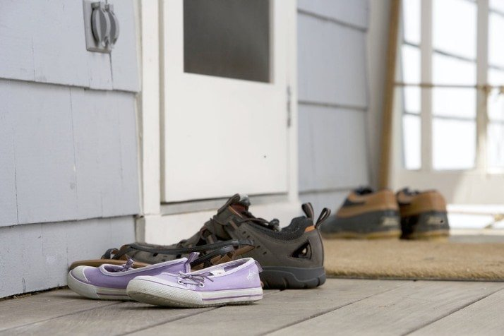 Shoes Need To Be Kept Outside
