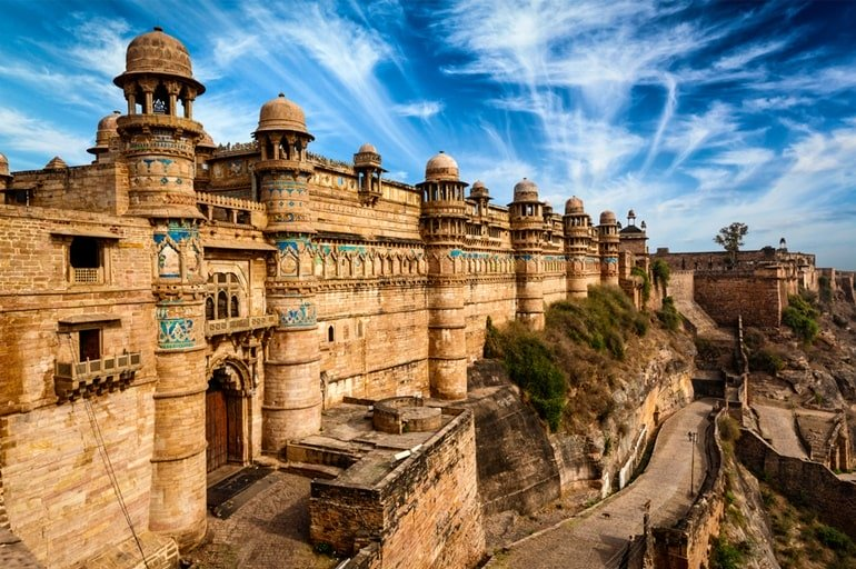Places To Visit In Gwalior Tourism: Gwalior Fort
