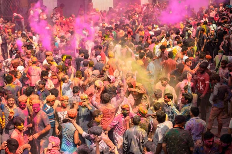 10 Best Places For Celebration Of Holi In India