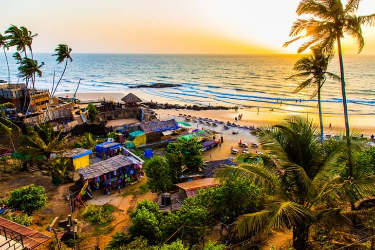 Complete Travel Information About Anjuna Beach Goa